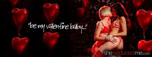 Jessie Saint, Judy Jolie - Be My Valentine (FullHD)