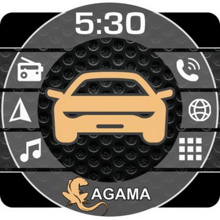 Car Launcher AGAMA Premium 2.8.0 [Android]