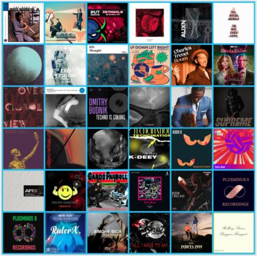 Electronic, Rap, Indie, R&B & Dance Music Collection Pack (2021-03-01)