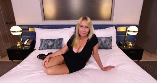 Adria - Gorgeous blonde MILF first timer (HD)
